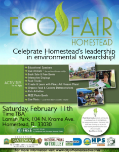 Homestead Florida's Eco Fair 2017
