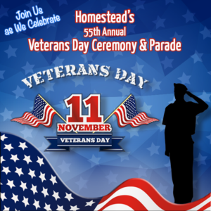 Homestead, FL - Veteran's Day Celebration and Parade - November 11, 2016