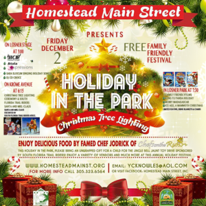 Christmas in the Park 2016 - Homestead FL